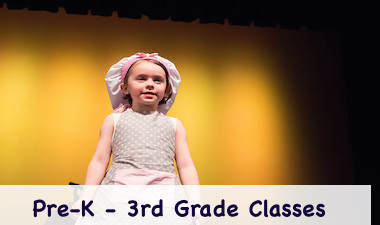 Classes for Pre-K - 3rd Grade