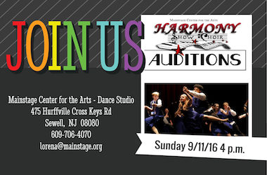 Harmony Auditions