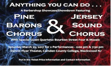 JS and Pine Baron Show Flyer - DRAFT